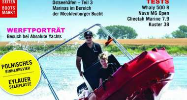 Zwiedzamy Pojezierze Iławskie i Kanał Elbląski we wrześniowym wydaniu Bootshandel Skipper